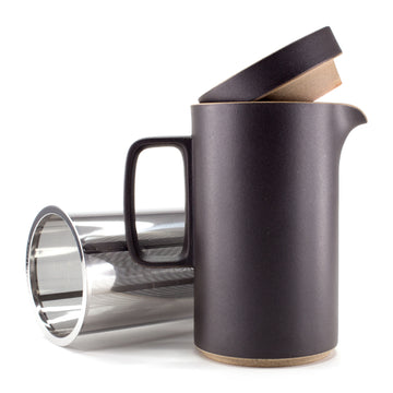 Hasami - Tea Pot in Black