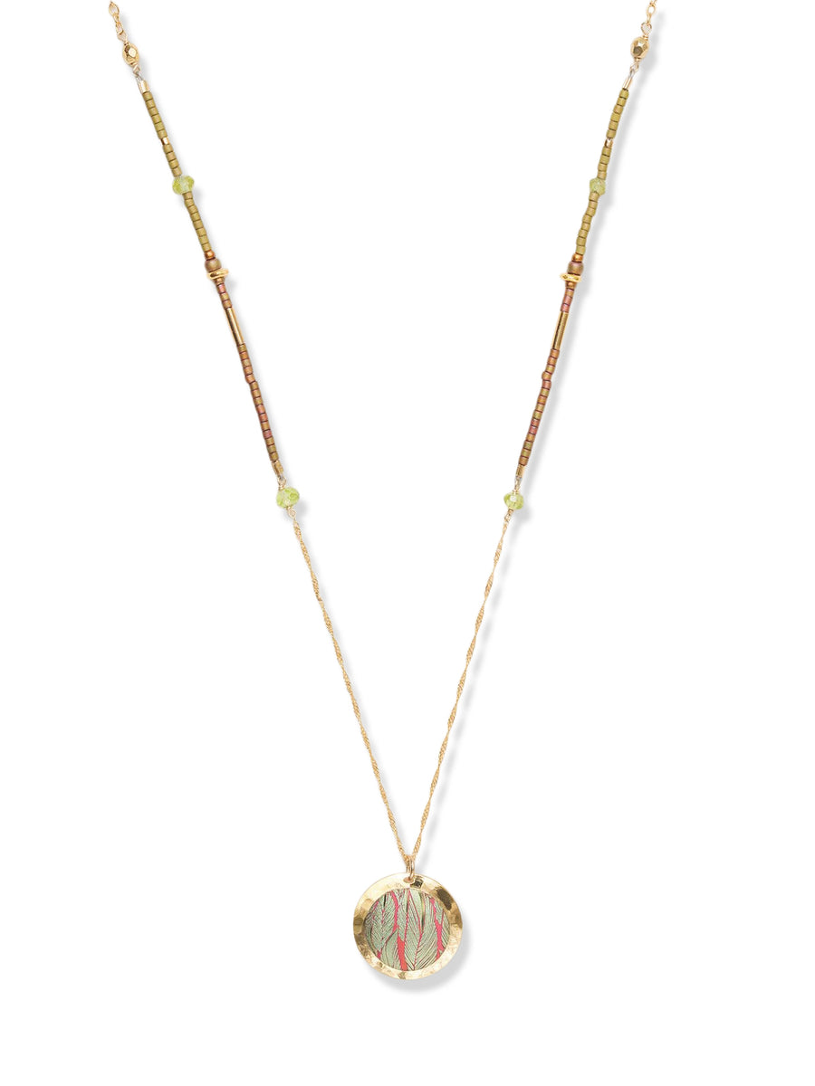 Holly Yashi - Aleah Necklace - Living Coral