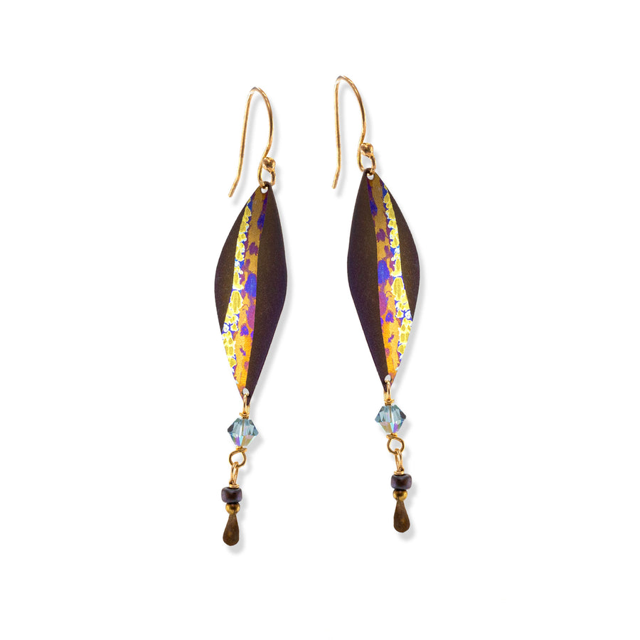 Holly Yashi - Sea Side Earrings - Brown