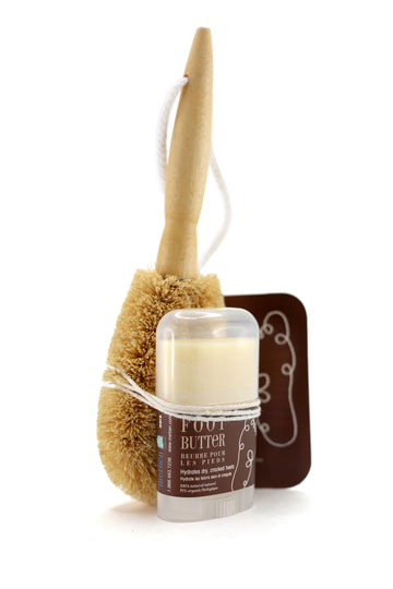 Merben - Coconut Foot Brush and Foot Butter Duo