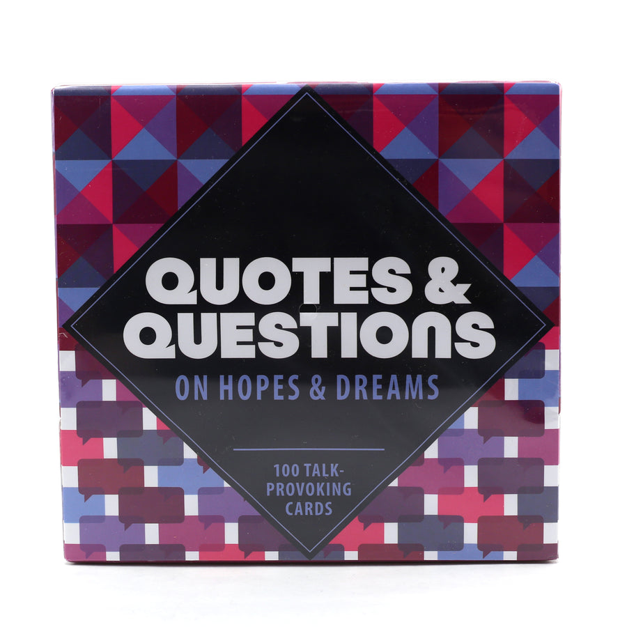 Quotes and Questions Conversation Cards
