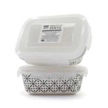 Snack & Serve Food Container