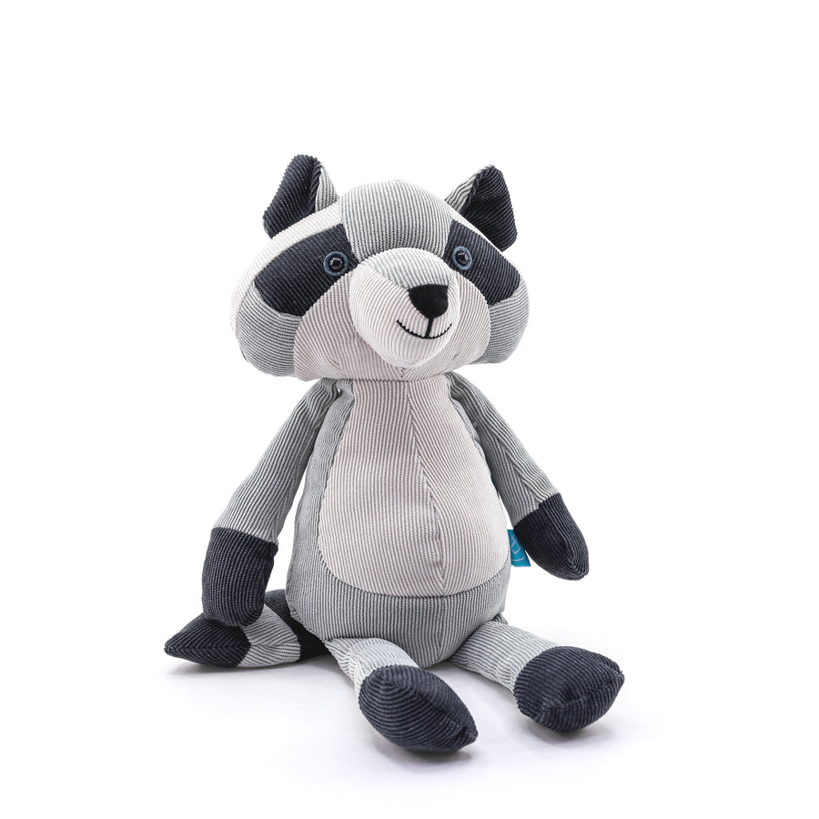 Folksy Foresters - Raccoon Stuffed Animal