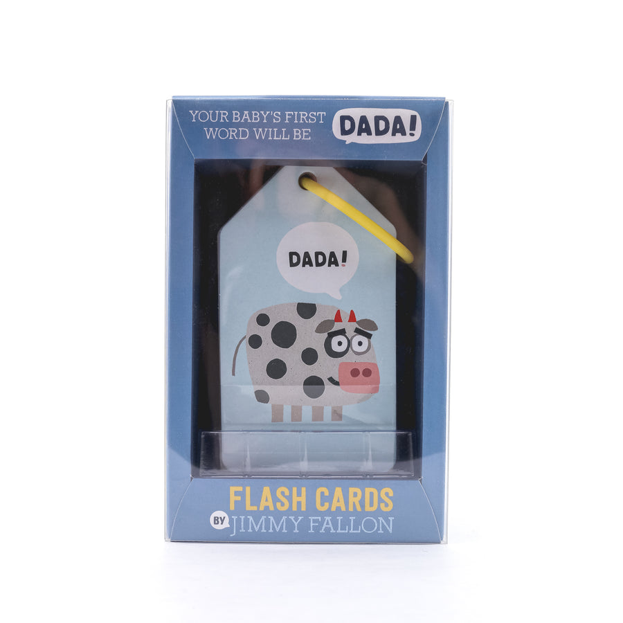 Your Baby's First Word Will Be Dada Flash Cards