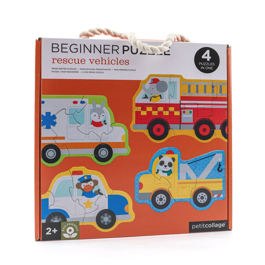 Rescue Vehicle Beginner Puzzle