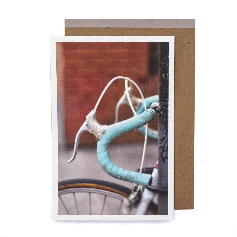 Celeste Bike Greeting Card