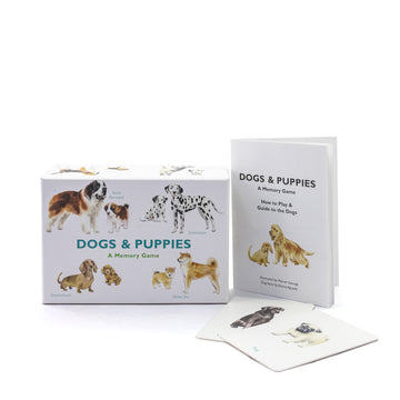 Dogs & Puppies Memory Game