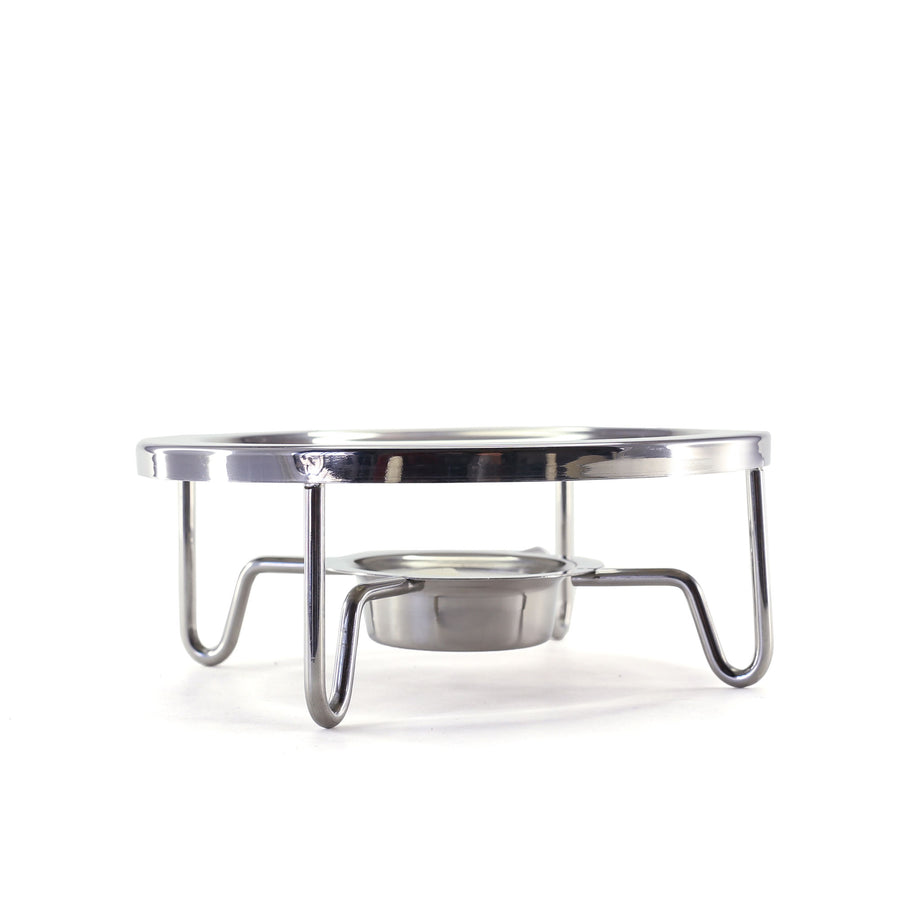 Asiatica Tea Warmer with Candle in Stainless Steel