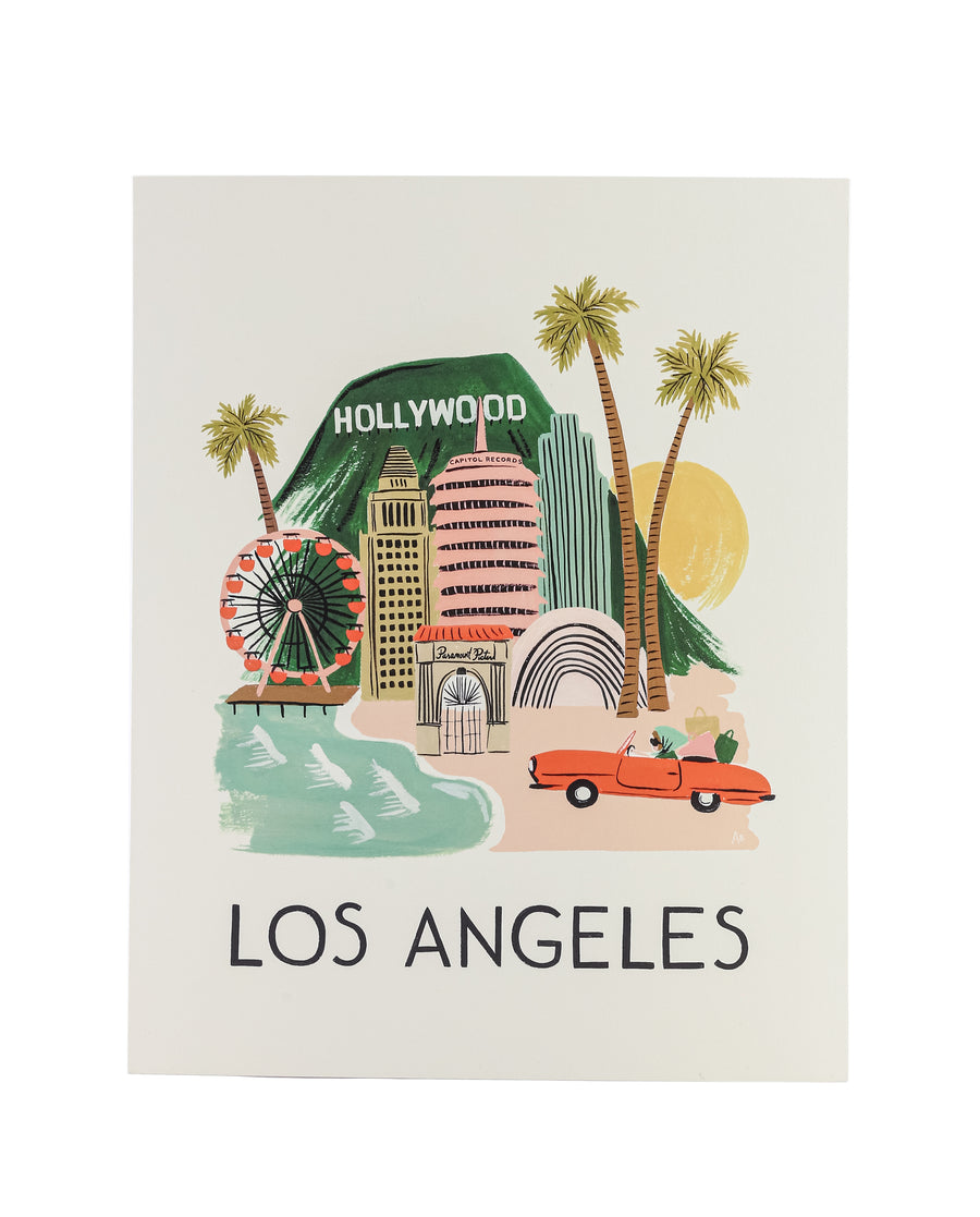 Rifle Paper Co. - Los Angeles Print