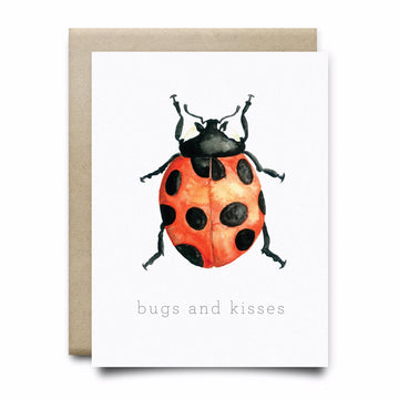 Bugs and Kisses Greeting Card