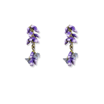 Michael Michaud - Lavender Post Earrings