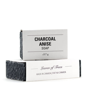 Leaves of Trees Charcoal Anise Soap
