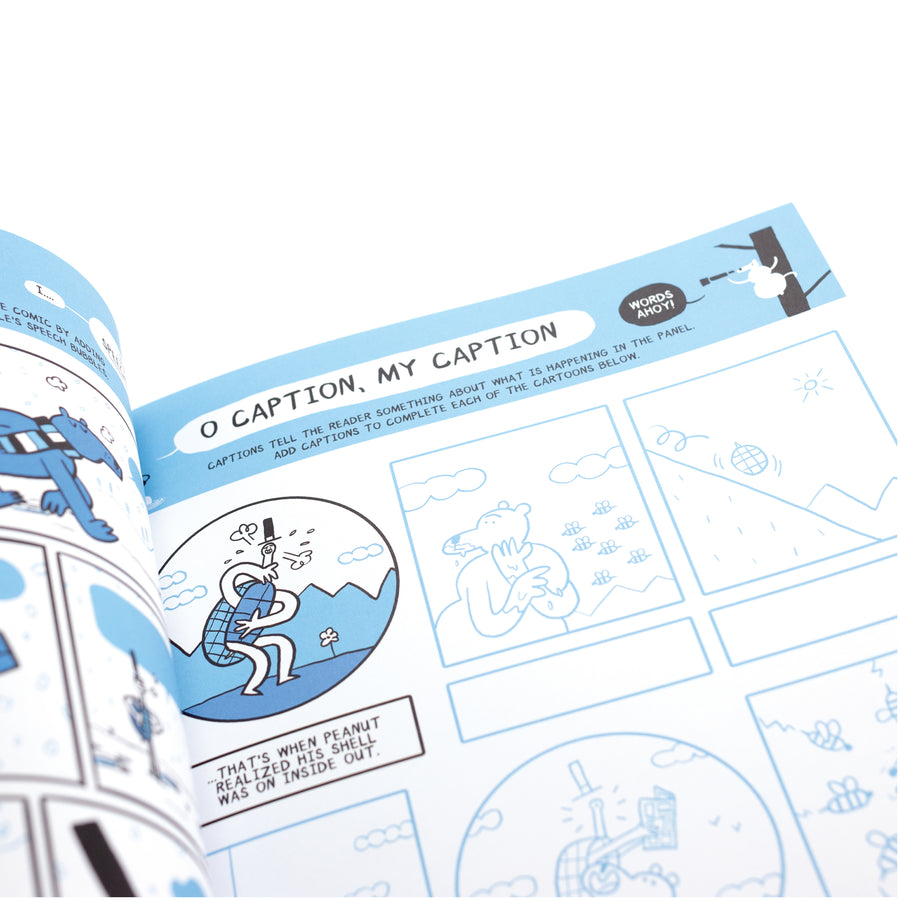 Let's Make Comics! Activity Book