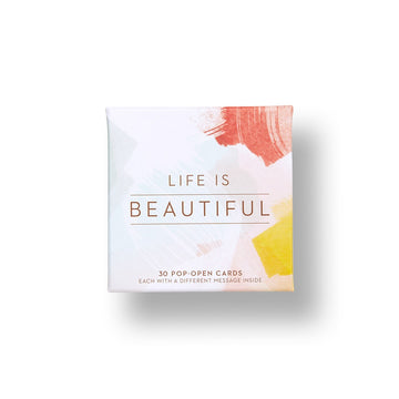 Life Is Beautiful Pop-Open Cards