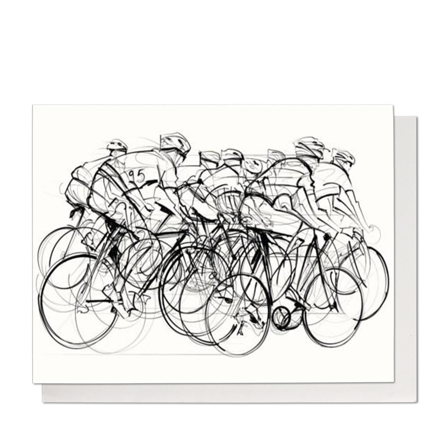 Cyclists Birthday Card