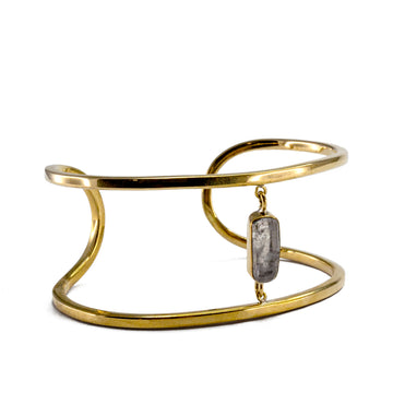 Lissa Bowie - Ilumina Cuff with Quartz