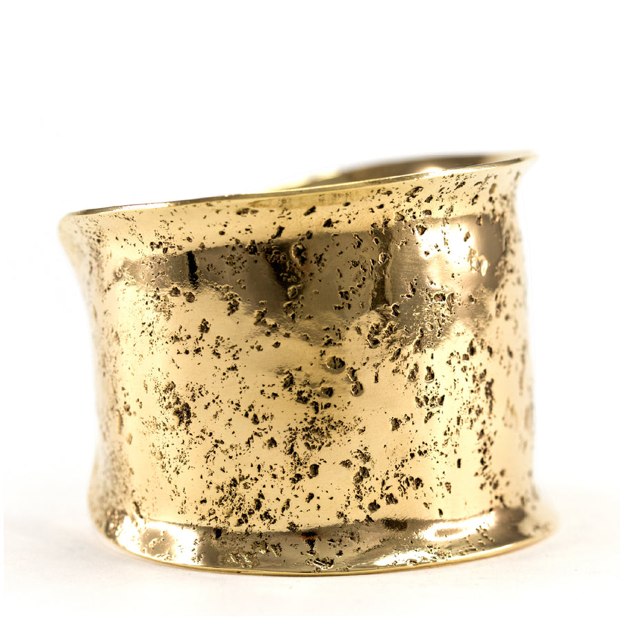 Lissa Bowie - Wide Textured Cuff