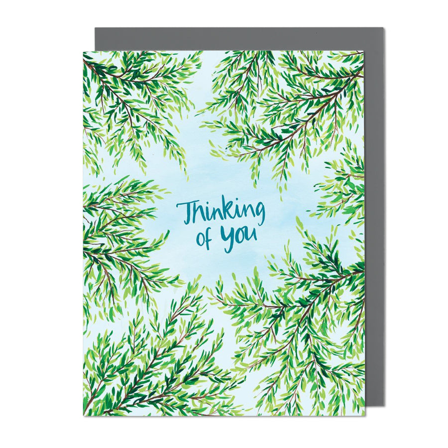 Looking Up Thinking of You Greeting Card