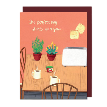 Love Perfect Day Greeting Card