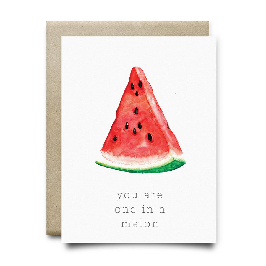 Melon Greeting Card
