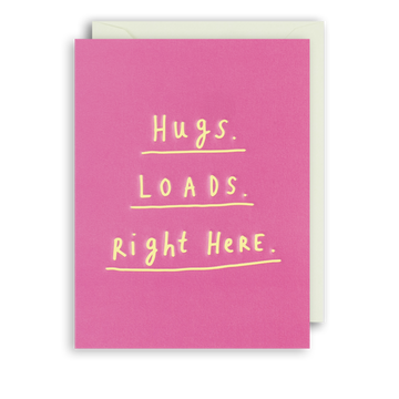 Hugs Loads Mini Greeting Card