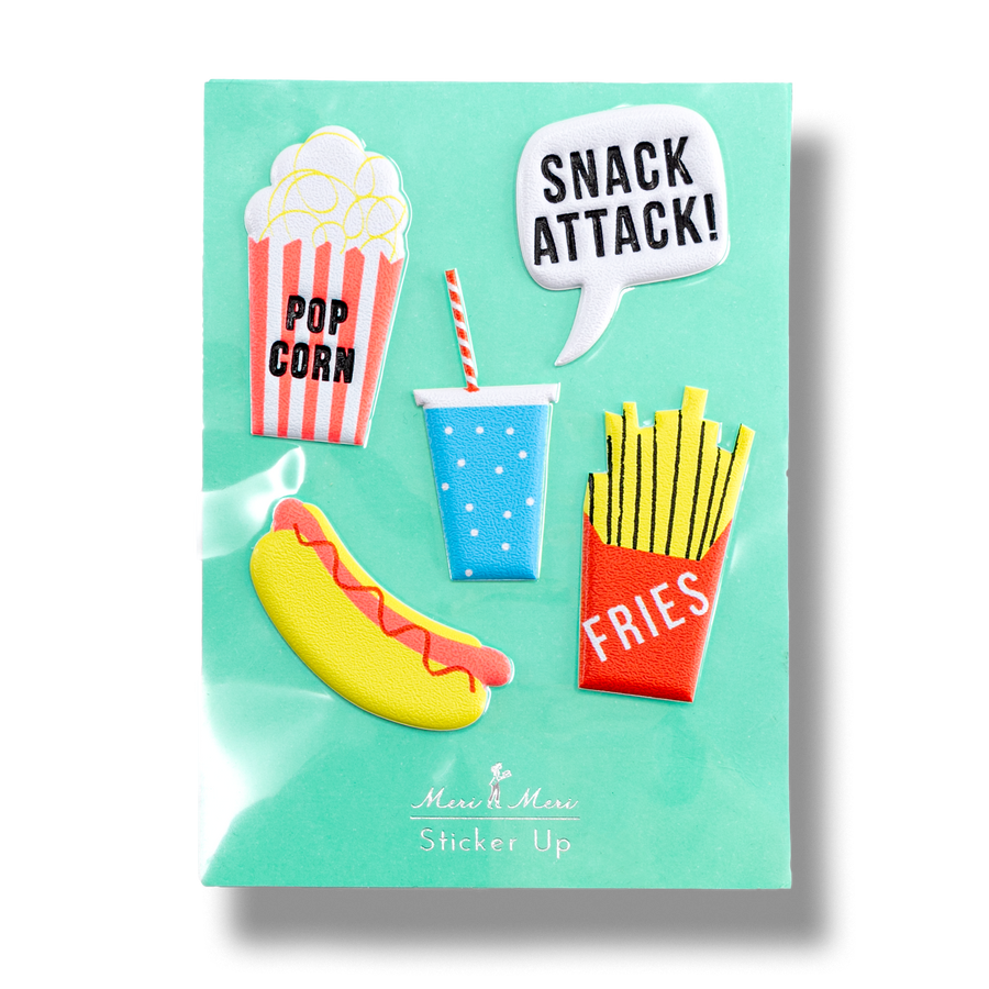 Meri Meri - Snack Attack Stickers