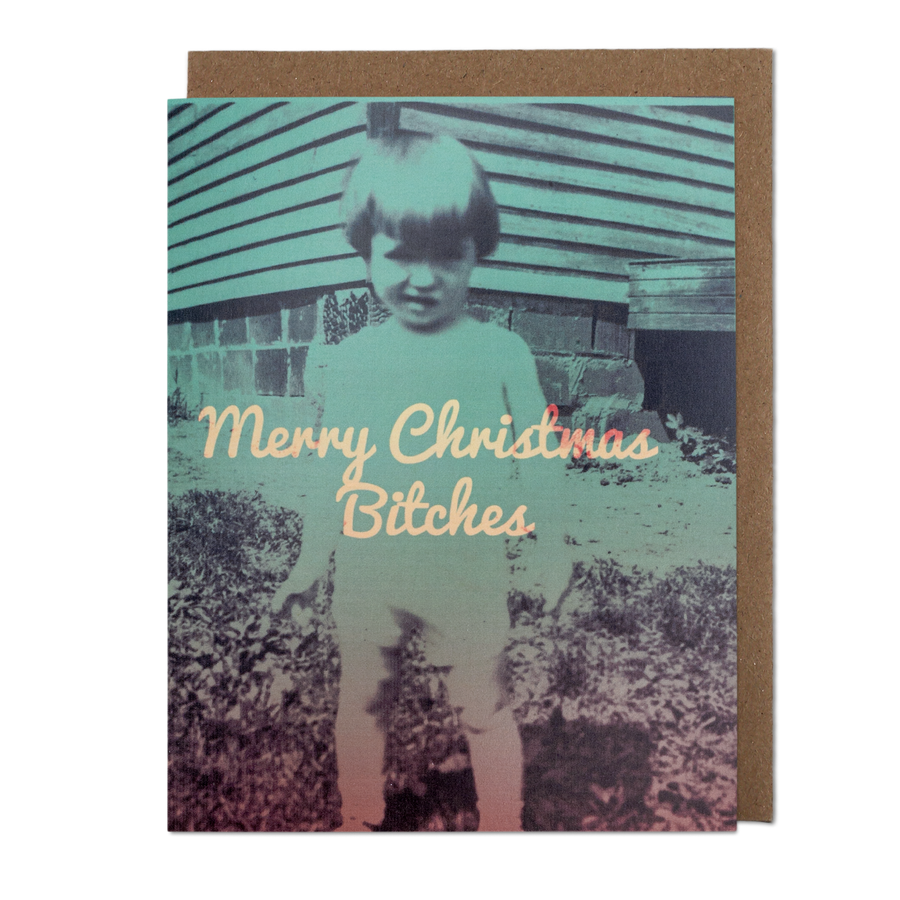 Christmas Bitches Greeting Card