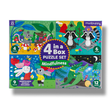 4-in-a-Box Puzzle Set - Mindfulness