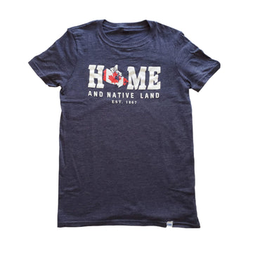 Home + Native Land Adult Tee