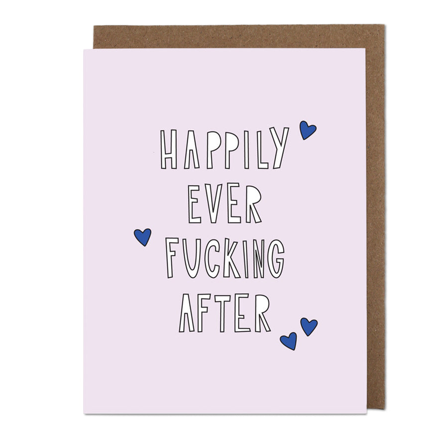 Happily Ever Fucking After Greeting Card