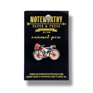 Bicycle Enamel Pin