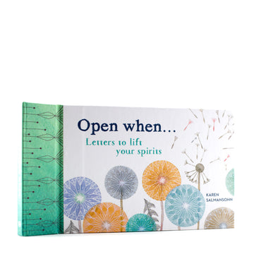 Open When... Letters to Lift your Spirits Book