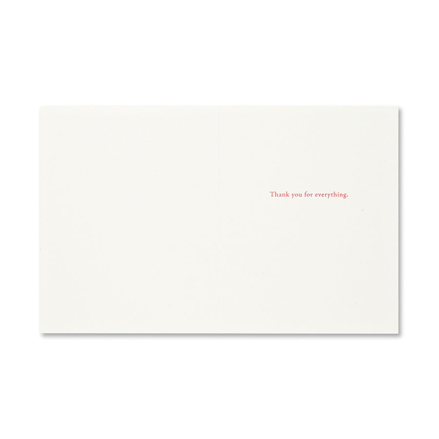 A Beautiful Day Thank You Card
