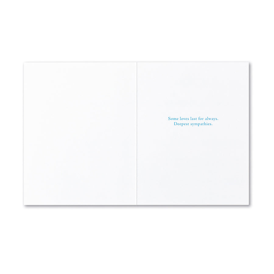 There Are No Goodbyes Greeting Card