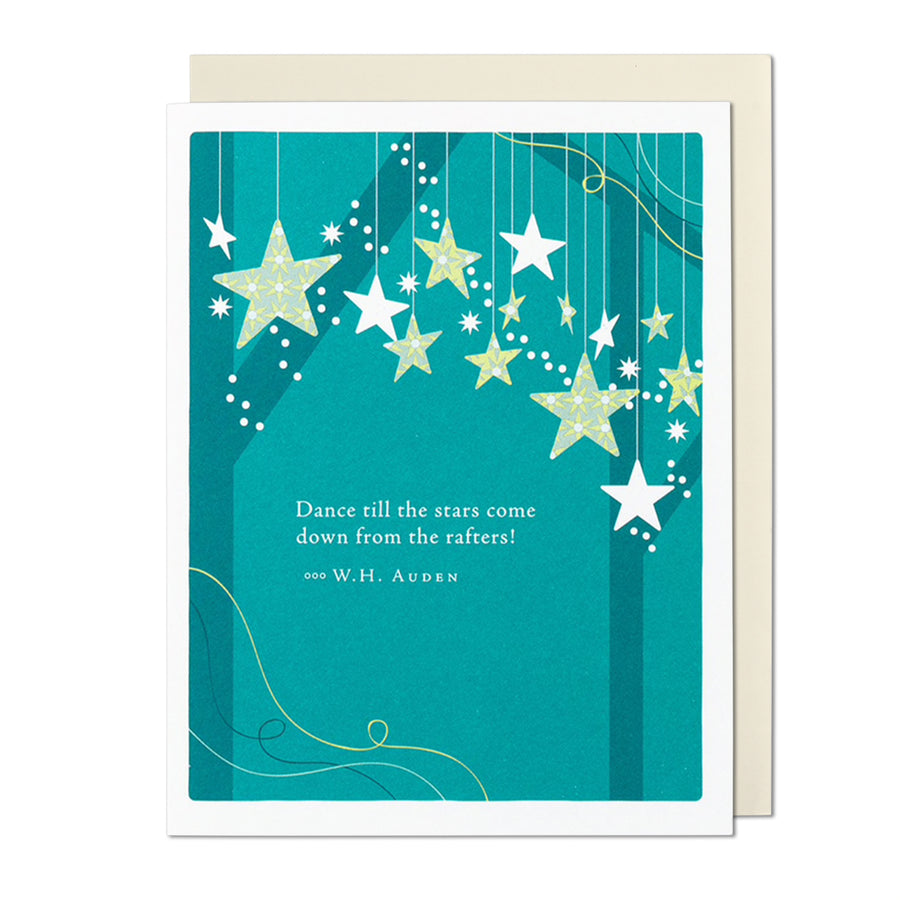 Dance Till the Stars Come Down Birthday Card