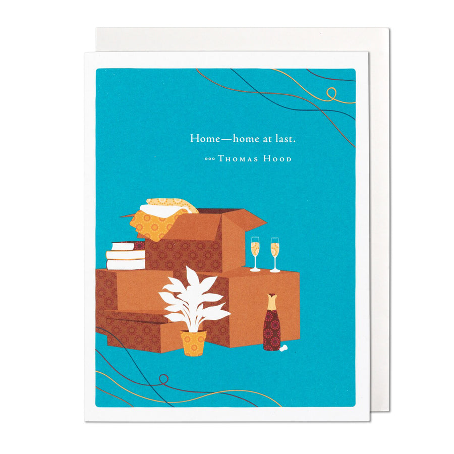 Home At Last Greeting Card