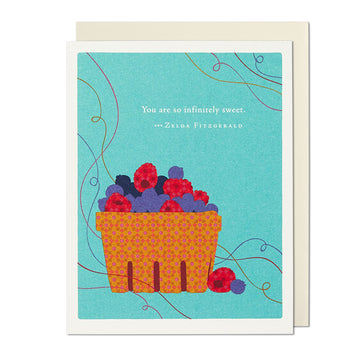 Infinitely Sweet Thank You Card