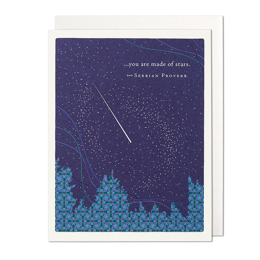 You Are Made of Stars Greeting Card