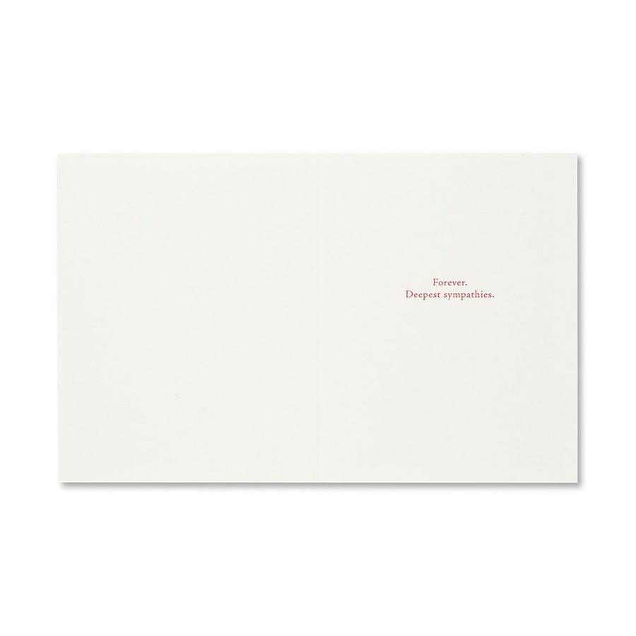 All That We Love Deeply Greeting Card