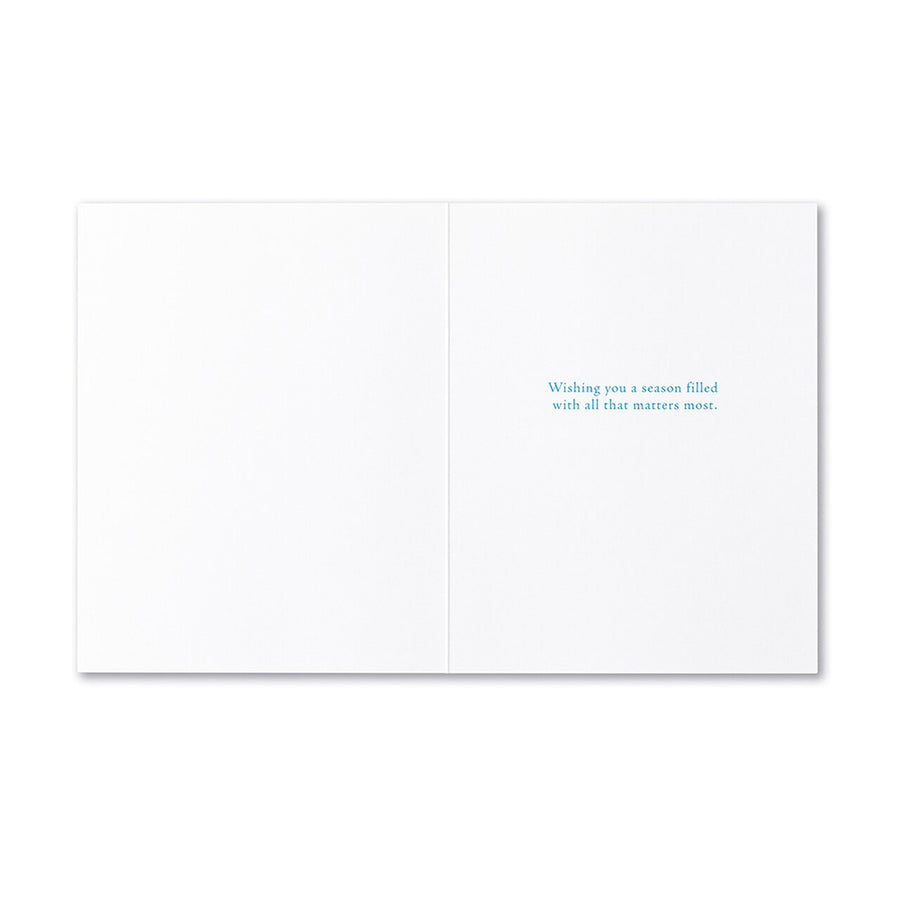 It Is Not What We Give Greeting Card