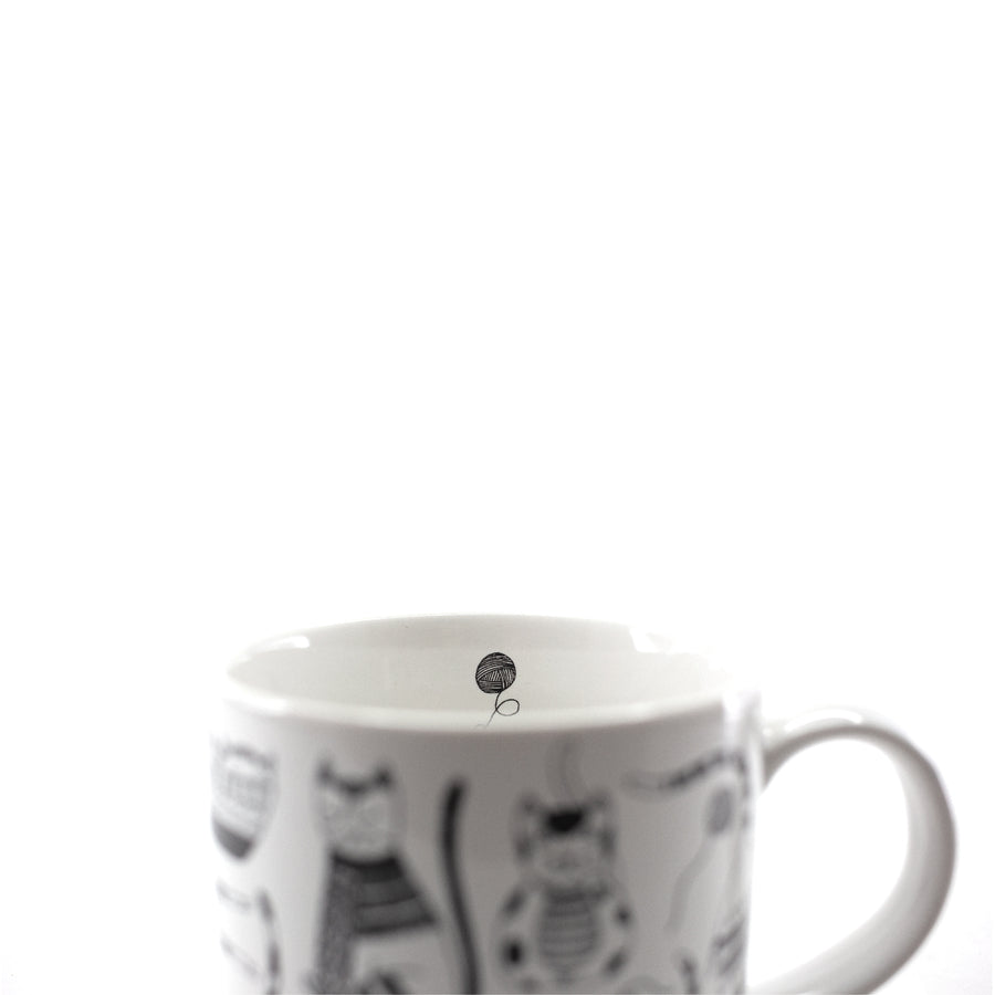 Purr Party Cat Mug