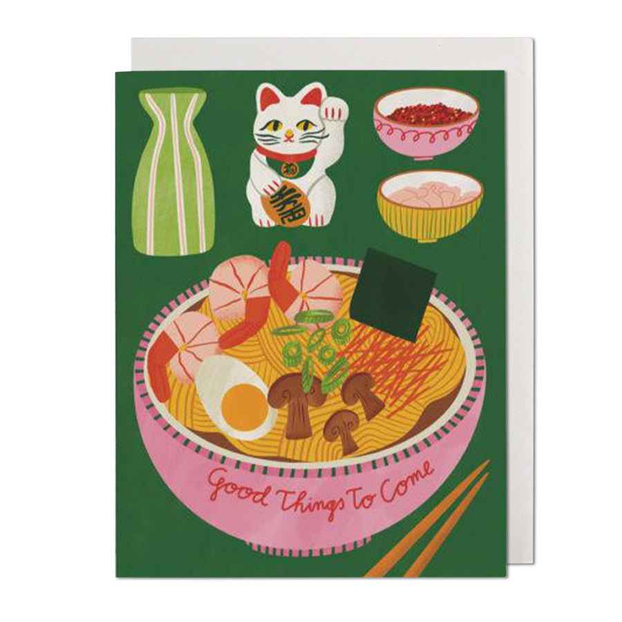 Ramen Bowl Greeting Card