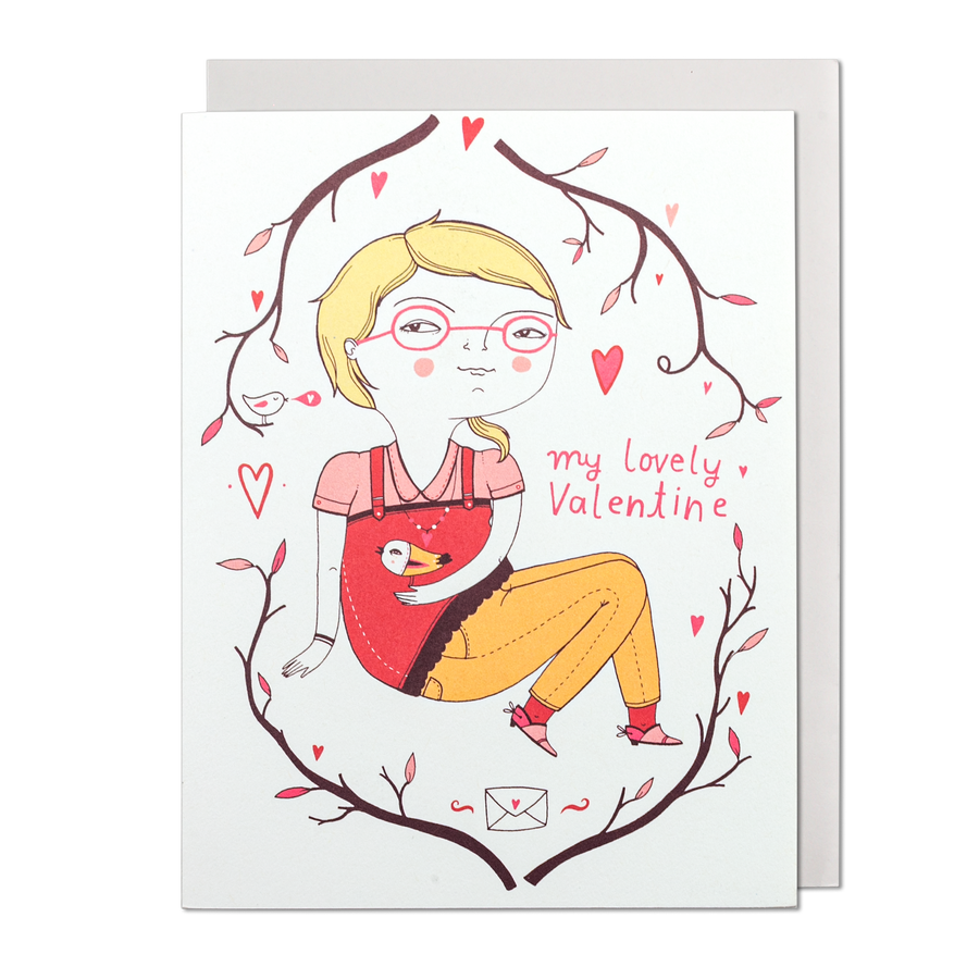 My Lovely Valentine Greeting Card