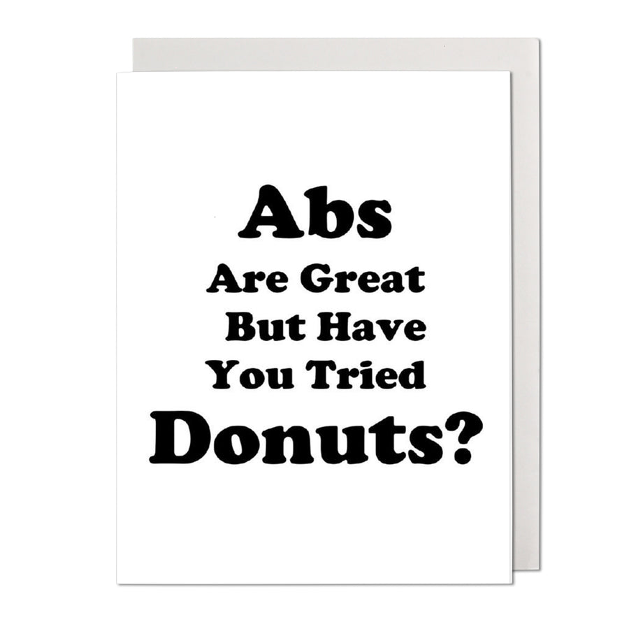 Donuts Birthday Card