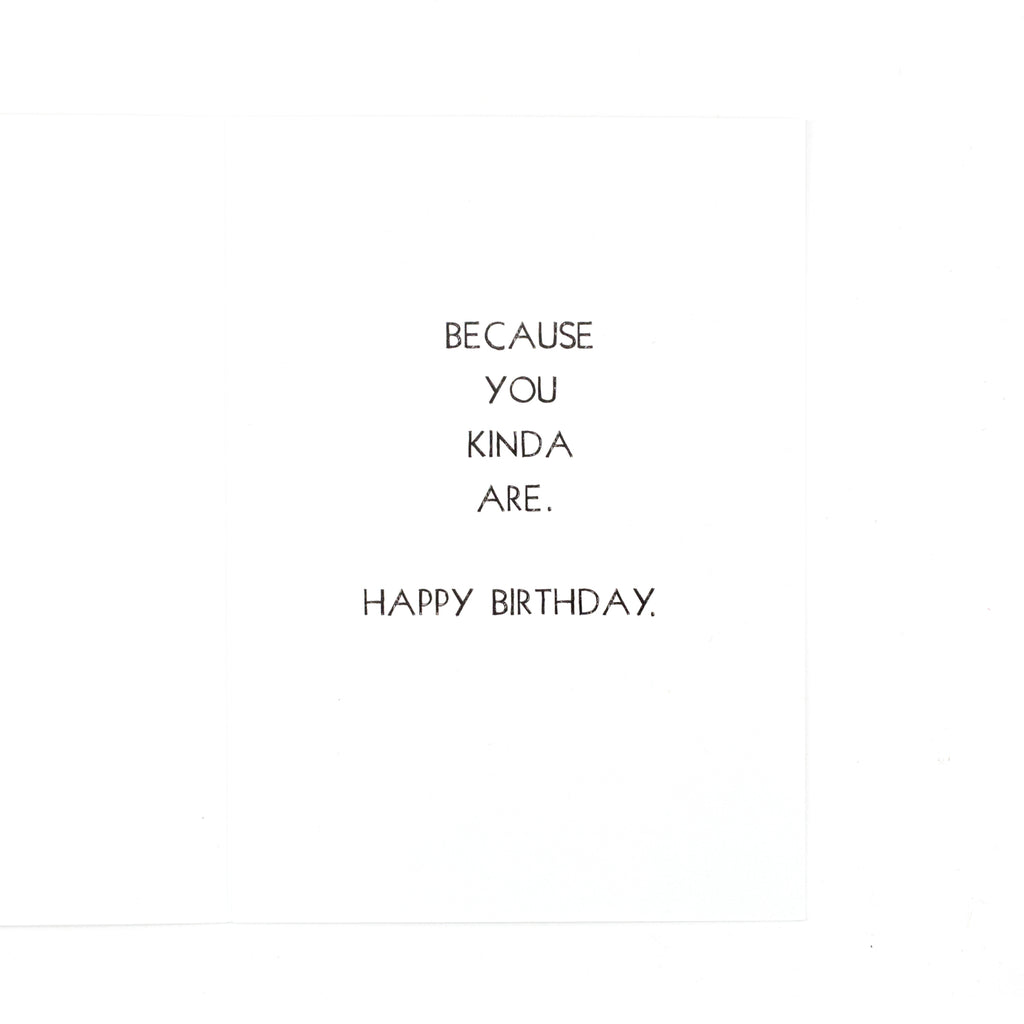You're the Beyoncé Birthday Card