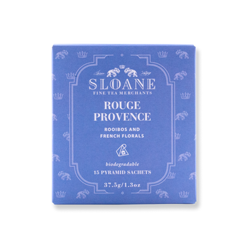 Sloane - Rouge Provence Tea Sachet Box