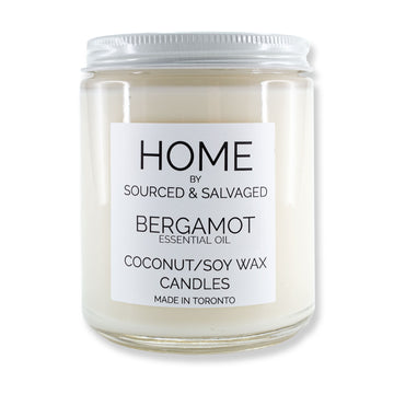Sourced & Salvaged - Bergamot Essential Oil Candle