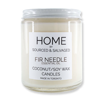Sourced & Salvaged - Fir Needle Candle
