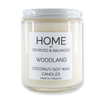 Sourced & Salvaged - Woodland Candle