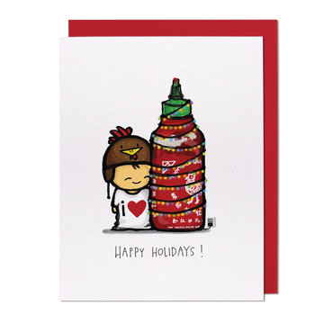 Spicy Tree Greeting Card
